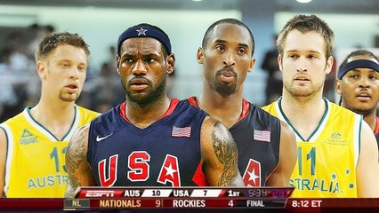 USA vs Australia - Full Game Highlights - Exhibition _ USA Basketball _ 2008 Beijing Olympics