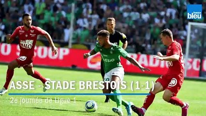 Ligue 1 - 2e journée : match nul de l'ASSE face à Brest