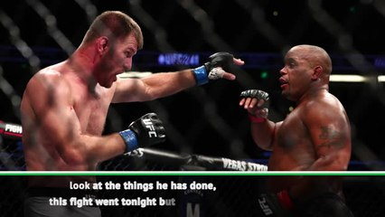One of the best ever - White on Miocic