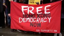 Australia solidale con Hong Kong, manifestazioni in diverse città