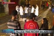 Ciudadano extranjero fue asesinado a balazos en San Martín de Porres