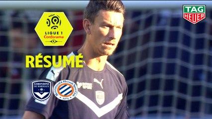 Girondins de Bordeaux - Montpellier Hérault SC (1-1)  - Résumé - (GdB-MHSC) / 2019-20