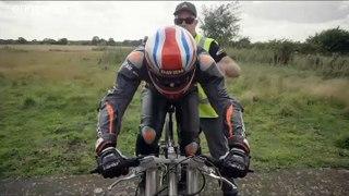 Neil Campbell bate recorde mundial de velocidade em bicicleta