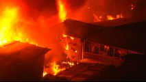 Bangladesh fire: Thousands of homes destroyed in Dhaka slum
