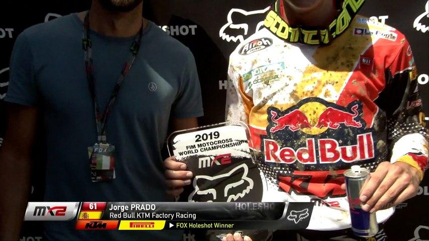 MX2 FOX HOLESHOT   MXGP of Italy 2019    #motocross