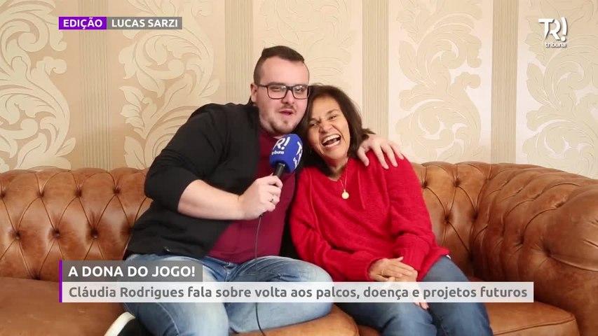 Cláudia Rodrigues fala sobre volta aos palcos, TV Globo, doença e projetos futuros