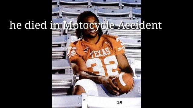 Rest In Peace Texas Legend Cedric Benson