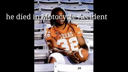 Rest In Peace Texas Legend Cedric Benson