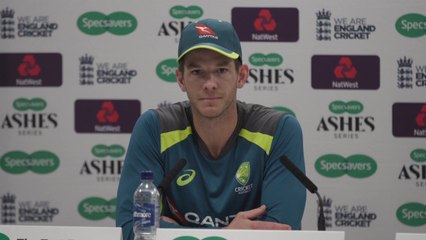 Australia's Tim Paine post Second Ashes Test