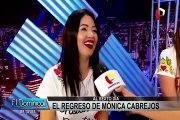 """Mónica Cabrejos debutó como conductora de """"Al sexto día"""""""