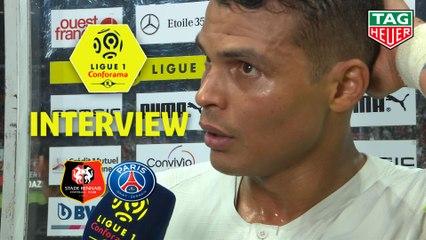 Interview de fin de match : Stade Rennais FC - Paris Saint-Germain (2-1)  - Résumé - (SRFC-PARIS) / 2019-20