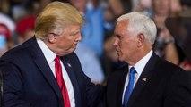 Trump Won't Dump Pence In 2020 Run