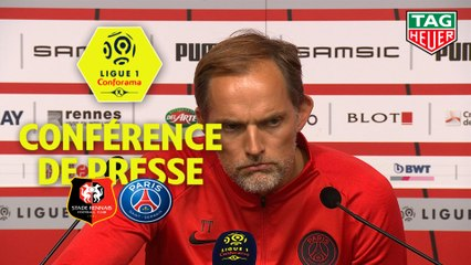 Conférence de presse Stade Rennais FC - Paris Saint-Germain (2-1) : Julien STEPHAN (SRFC) - Thomas TUCHEL (PARIS) - 2019/2020
