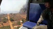 Incendios en Bolivia por quema de pastizales se acercan a Paraguay
