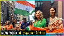 Hina Khan Represents India In New York   Fans Go CRAZY