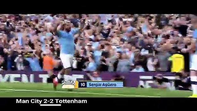 Man City 2-2 Tottenham   - PREMIER LEAGUE 19-20