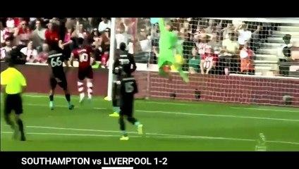 southampton vs liverpool 1 2 highlights goals premier league 19 20