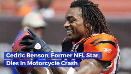 NFL Player Cedric Benson Dies In Crash