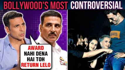 Akshay Kumar's BIGGEST Controversies And UGLY Fights | Bollywood's MOST Controversial