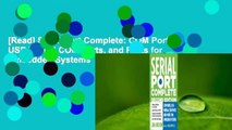 [Read] Serial Port Complete: COM Ports, USB Virtual COM Ports, and Ports for Embedded Systems  For
