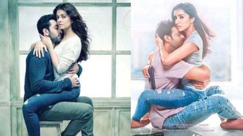 Prabhas & Shraddha Kapoor copy Aishwarya Rai Bachchan & Ranbir Kapoor in Saaho new poster |FilmiBeat