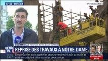 Le chantier de Notre-Dame reprend ce lundi, avec la décontamination au plomb de l'édifice