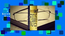 Full version  Investment Banking Focus Notes  Best Sellers Rank : #1