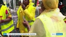 Paris : les femmes de chambre d'un Ibis en grève depuis un mois