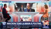 Macron tend la main à Poutine