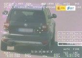 VÍDEO: Pegasus caza a este Skoda Yeti a 159 km/h por una carretera convencional