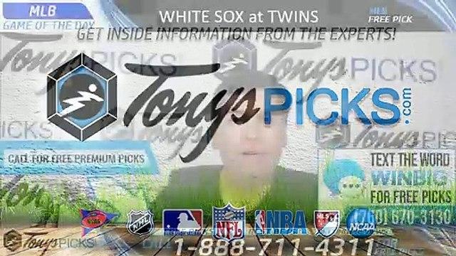 White Sox Twins MLB Pick 8/19/2019