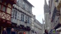 Quimper and Quimper Cathedral, Brittany