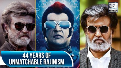 Superstar Rajinikanth Completes 44 Glorious Years In The Industry