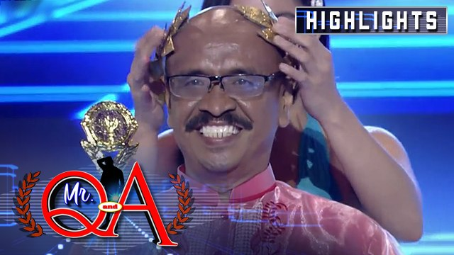 Toti Sandoval wins as Mr Q & A | It's Showtime Mr Q and A