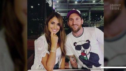 La pareja de Leo Messi publica una romántica imagen y todos se fijan en el mismo detalle