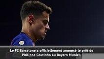 Transferts - Le Barça prête Coutinho au Bayern Munich