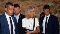 Brigitte Macron victime d'une chute sur un bateau: la Première dame s'est luxé l'épaule