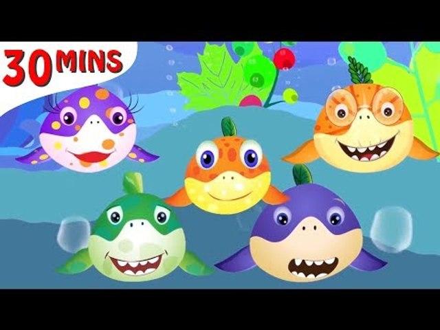 Baby Shark Vegetable Super Cute + More Kids Songs   Nursery Rhymes & Cartoon Songs for Kids