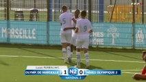 National 2 | OM – Nîmes (2-1) : Les buts