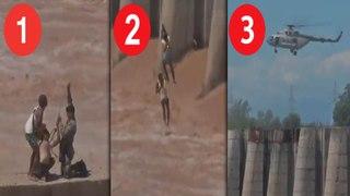Indian air force rescue| வெள்ளத்தில் சிக்கியவர்களை துணிச்சலாக மீட்ட இந்திய விமானப்படை