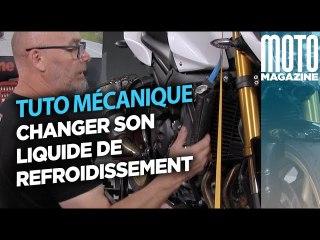 Changer son liquide de refroidissement - Tuto Moto Magazine