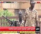 اللقطات الأولى لوصول الرئيس السودانى السابق إلى مقر محاكمته