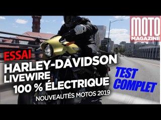 LIVEWIRE Harley Davidson - On vous dit tout (MOTO MAGAZINE)