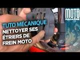 Nettoyer ses étriers de frein moto - tuto Moto Magazine