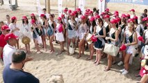 Así limpiaron la playa las candidatas a Miss World Spain 2019