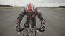 Flashé à 280 km/h sur son vélo : record battu pour Neil Campbell