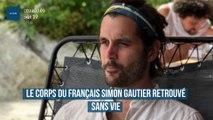 Le corps du Français Simon Gautier retrouvé sans vie