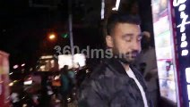 Shilpa Shetty with hubby Raj and Shama Sikander with BF on Dinner Date at Bastian