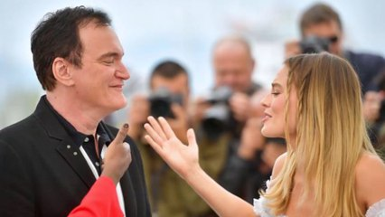 Margot Robbie landed Quentin Tarantino meeting with fan letter