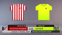 Match Review: Atletico Madrid vs Getafe on 18/08/2019